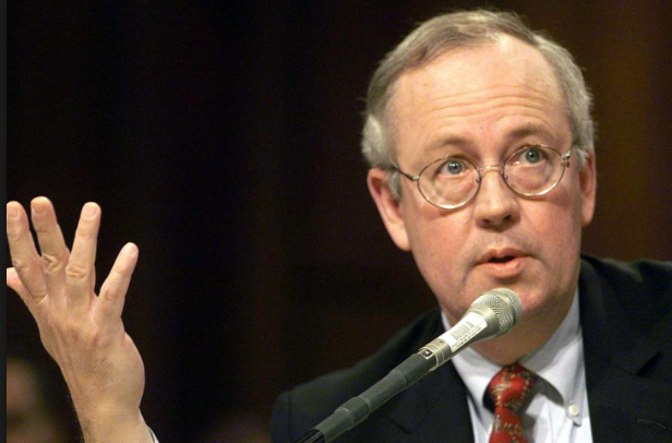Kenneth Starr, Jesse Helms, and Bill Clinton
